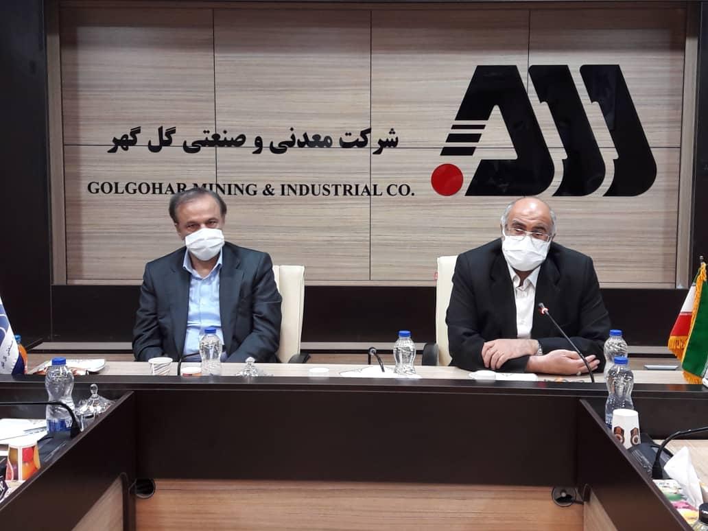 بهرهبرداری پروژه انتقال آب از خلیج فارس به گلگهر