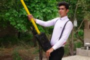 دانش آموز پژوهشگر رابری بر سکوی سوم جشنواره جوان خوارزمی ایستاد