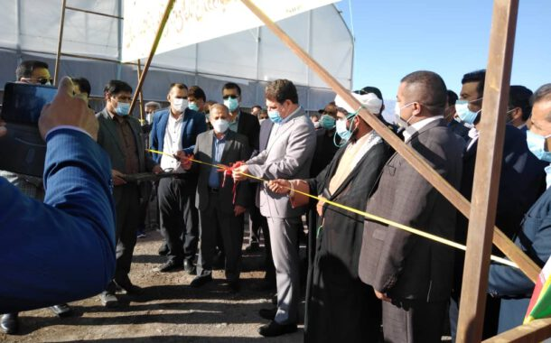 افتتاح یک طرح گلخانه هیدروپونیک در مجتمع گلخانه ای روداب نرماشیر